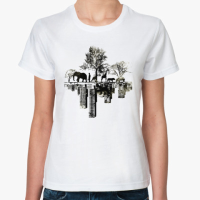 Классическая футболка Противоположность