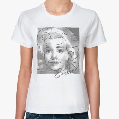 Классическая футболка  Монро-Эйнштейн