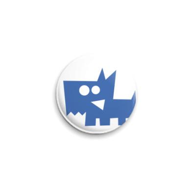 Значок 25мм Собак (Знаки зодиака)