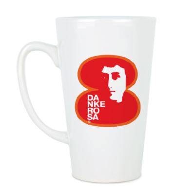 Чашка Латте  8 марта Danke rosa 1