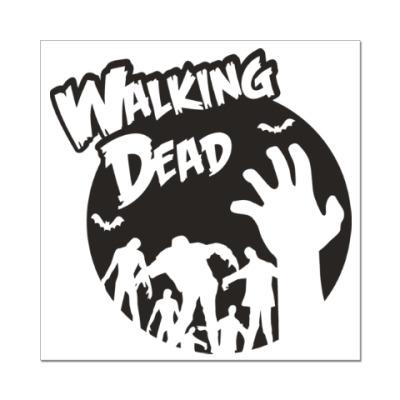 Наклейка (стикер) Ходячие мертвецы
