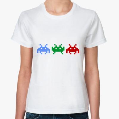 Классическая футболка Invaders