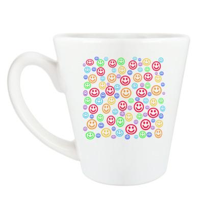Чашка Латте 'Smile'