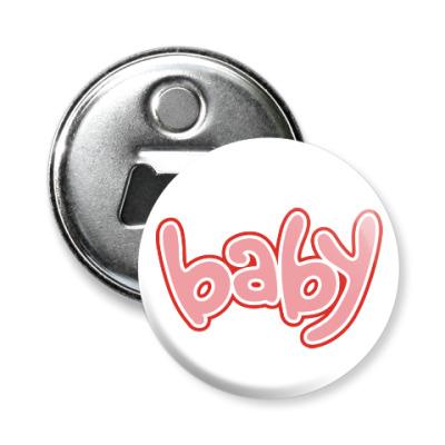 Магнит-открывашка Baby