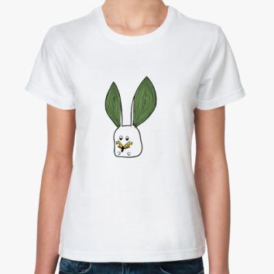 Классическая футболка  футболка зверушачная