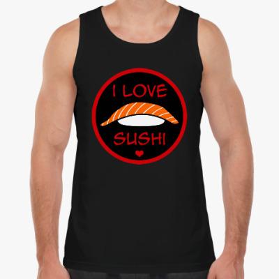 Майка Я люблю суши
