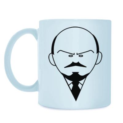 Кружка Ленин