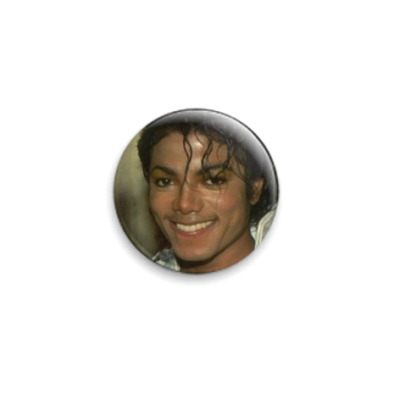 Значок 25мм  Michael Jackson