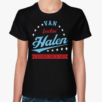 Женская футболка Van Halen