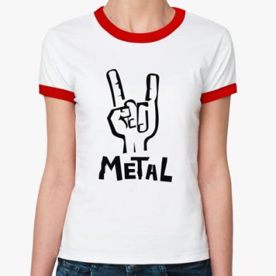 Женская футболка Ringer-T  Koza