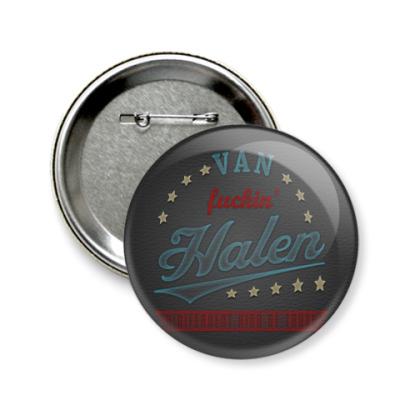 Значок 58мм Van Halen