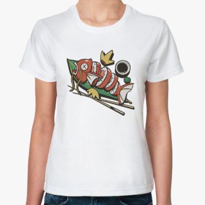 Классическая футболка Суши