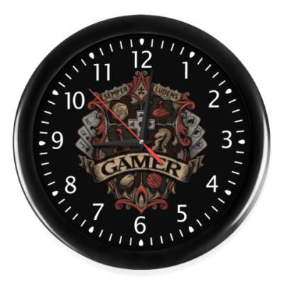 Часы Герб Геймера Gamer