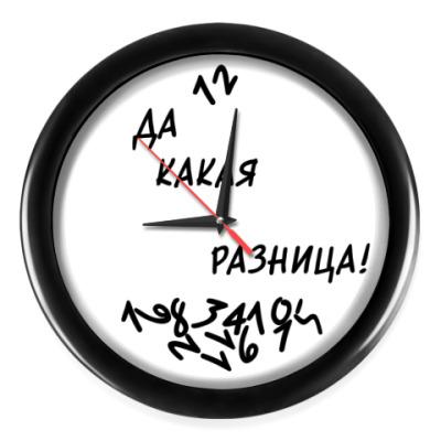 Настенные часы БЕЗ РАЗНИЦЫ!