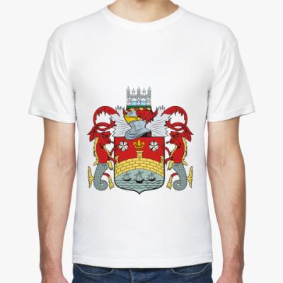 Футболка Герб города Кембридж