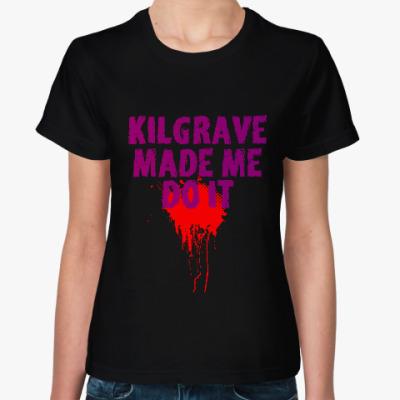 Женская футболка Kilgrave made me do it