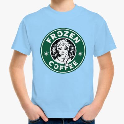 Детская футболка Frozen coffee