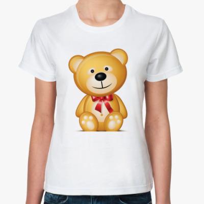 Классическая футболка Плюшевый Мишка