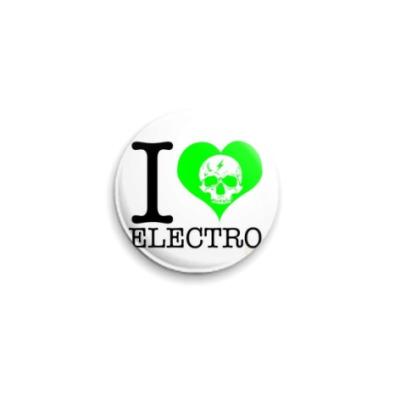Значок 25мм electro  25 мм