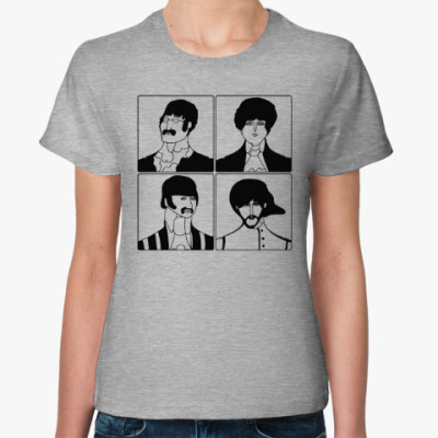 Женская футболка Beatles