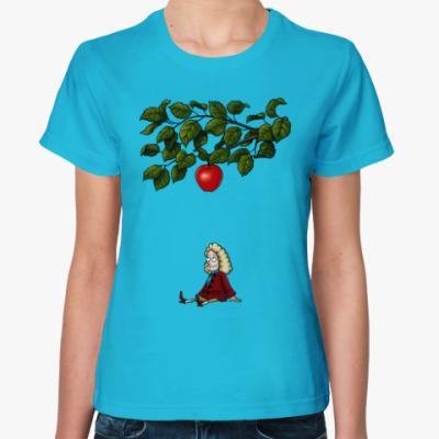 Женская футболка Sir Isaac Newton