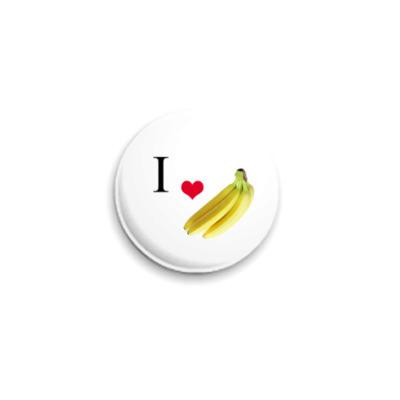 Значок 25мм  25 мм, Banana