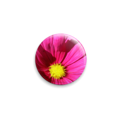 Значок 25мм  'Цветок'