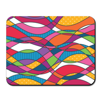 Коврик для мыши Геометрика Waves