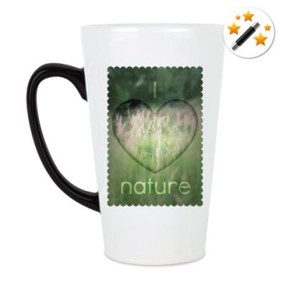 Кружка-хамелеон 'I Heart Nature'