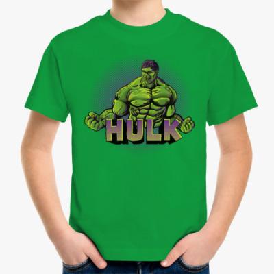 Детская футболка Халк
