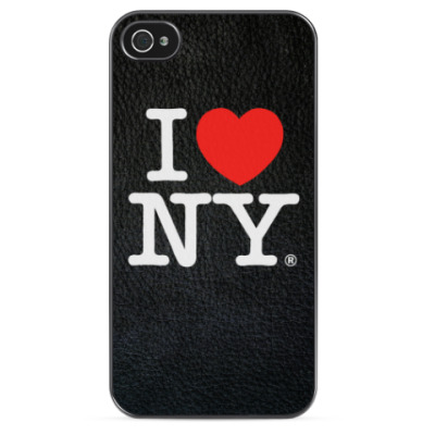 Чехол для iPhone  I love NY