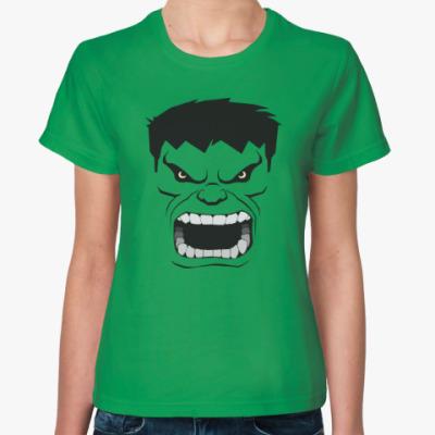 Женская футболка Hulk