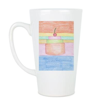 Чашка Латте 'Торт'