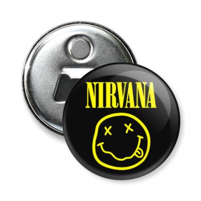 Магнит-открывашка Nirvana