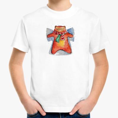 Детская футболка Снежный Кот