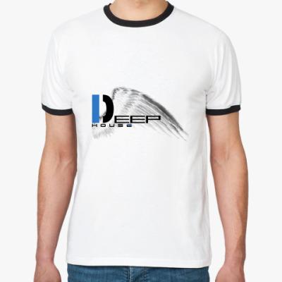 Футболка Ringer-T Deep House
