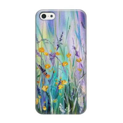 Чехол для iPhone 5/5s Полевые цветы