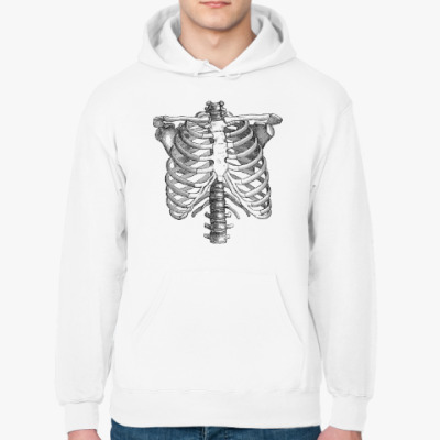 Толстовка худи Bones