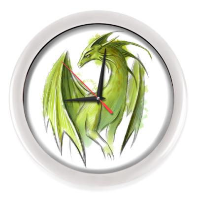 Настенные часы Дракон