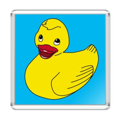 """Магнит  """"Rubber duck"""" #1"""