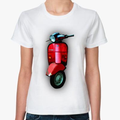 Классическая футболка vespa 9