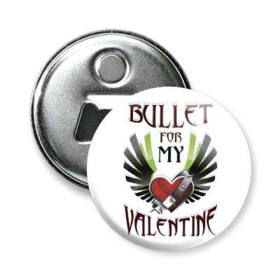 Магнит-открывашка Bullet for my Valentine