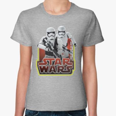 Женская футболка Клоны