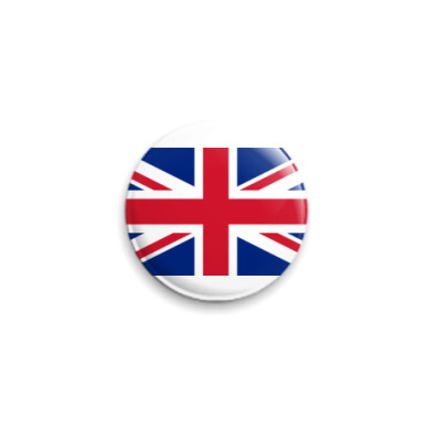 Значок 25мм  Великобритания ()