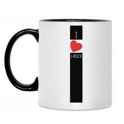 Кружка 'I love J-ROCK'