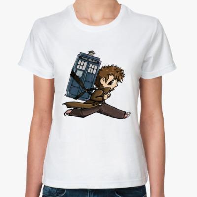 Классическая футболка Доктор!