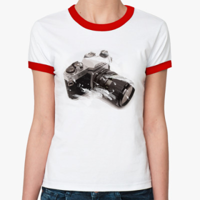 Женская футболка Ringer-T pentax