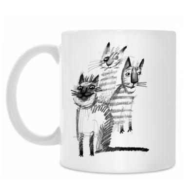 Кружка Банда котов