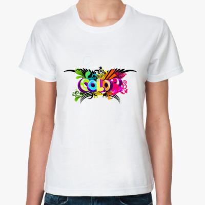 Классическая футболка Color - Цвет