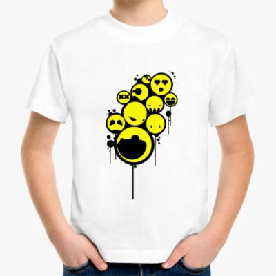 Детская футболка Детская футболка Smiley